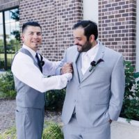 Men's clothing when called for a wedding