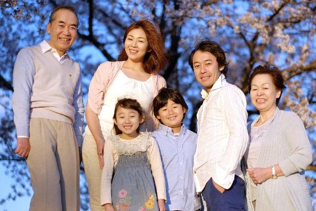 プロフィールムービー家族写真